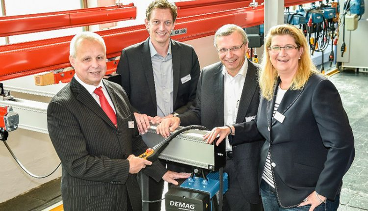 Opening of the Demag training centre