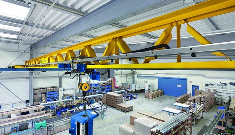 Demag V-type crane design
