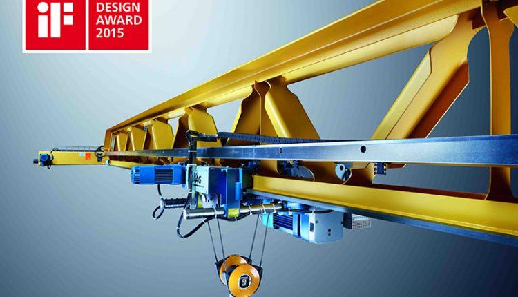Innovative crane girder design convinces the jury