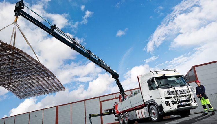 HIAB X-HiPro loader crane