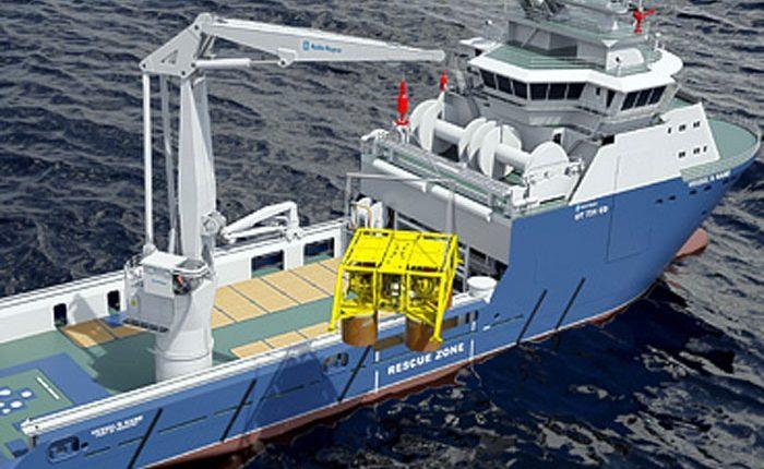 Rolls-Royce to supply cranes for nine Brazilian built PSVs