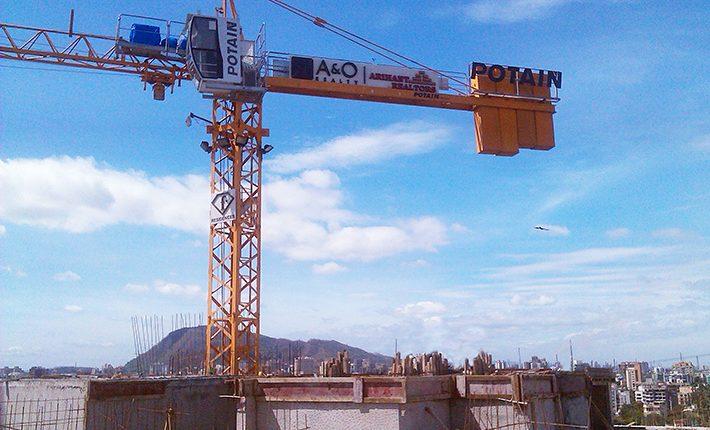 Shree Balaji Construction purchase third Potain tower crane
