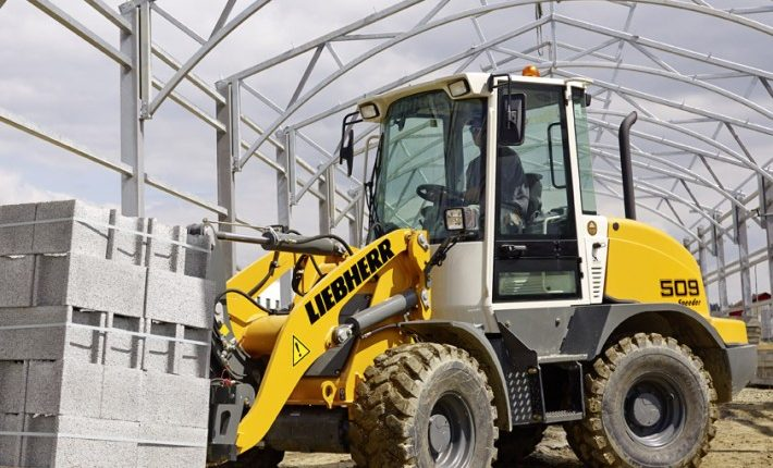 The new Liebherr Stereo L 509 Speeder with fork