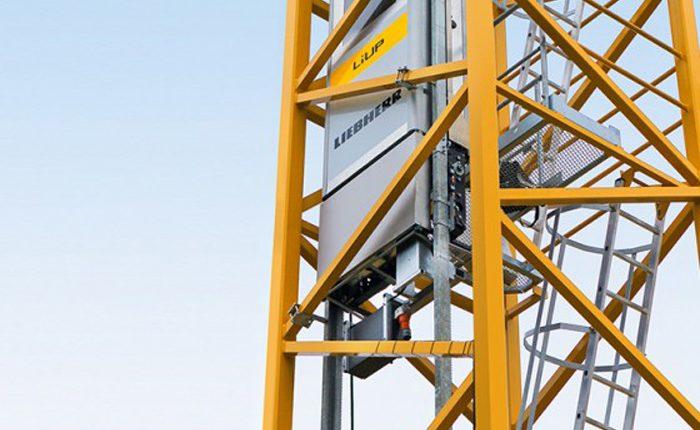 Liebherr launches the LiUP crane driver elevator